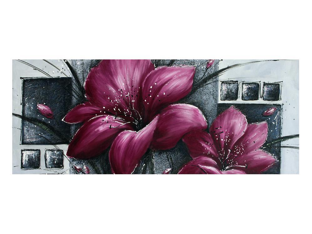 Tablou modern cu flori (K012355K10040)