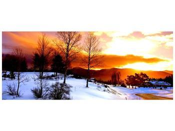 Obraz zimní krajiny (F000192F10040)