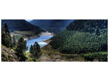 Obraz řeky a hor (F000615F10040)