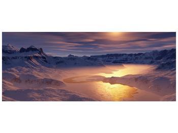 Krásný obraz zimní krajiny (F000939F10040)