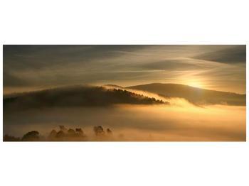 Obraz hor v mlze (F001451F10040)
