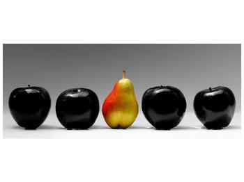 Obraz dvou jablek a hrušky (F001587F10040)