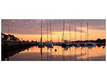 Obraz přístavu (F001605F10040)