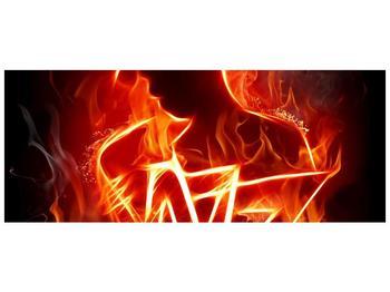 Obraz ohnivé postavy (F001691F10040)