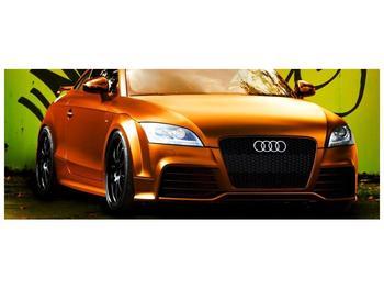 Obraz oranžové Audi (F002351F10040)