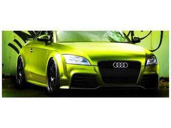 Obraz zelené Audi  (F003676F10040)