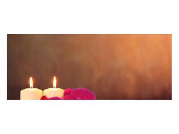 Tablou relaxant cu lumănâri și orhidee (K011120K10040)