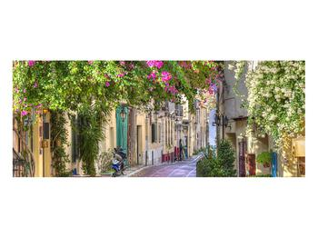 Obraz středomořské letní uličky (K011282K10040)
