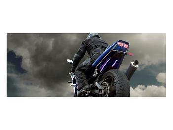 Tablou cu motociclist cu motocicletă (K011302K10040)