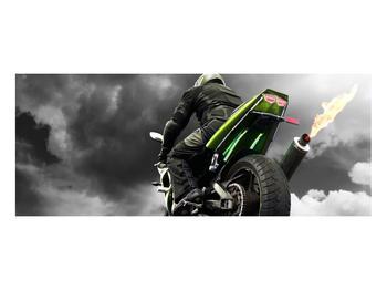 Tablou cu motociclist pe motocicletă (K011383K10040)