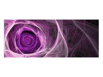 Moderný obraz fialovej ruže (K011482K10040)
