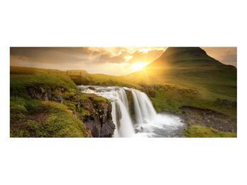 Obraz krajiny s malým vodopádem (K012050K10040)