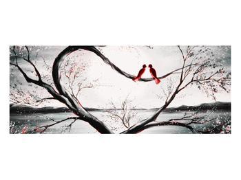 Zamilovaný obraz ptáků (K012527K10040)