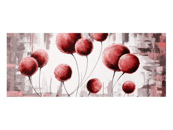 Tablou abstract - balonașe roșii (K014741K10040)