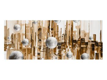 Abstraktní obraz - město (K014743K10040)