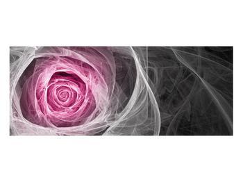 Abstraktní obraz růže (K014952K10040)