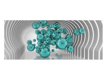 Abstraktní obraz - bubliny (K014966K10040)