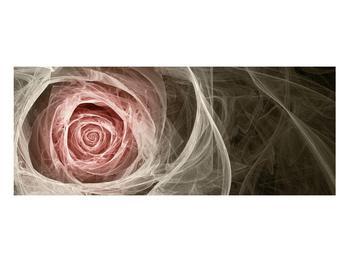 Abstraktní obraz růže (K014988K10040)