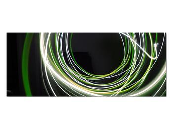 Obraz zelených čiar (V020054V10040)