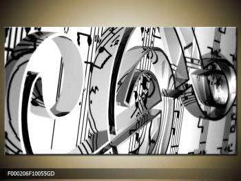 Moderní obraz houslového klíče (F000206F10055GD)