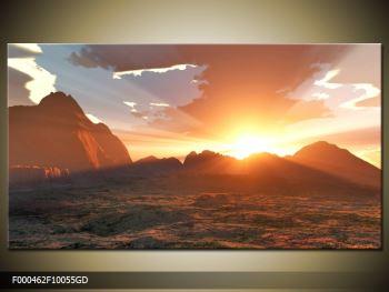 Obraz západu slunce (F000462F10055GD)