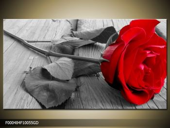 Obraz růže (F000484F10055GD)
