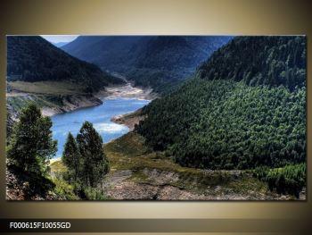 Obraz řeky a hor (F000615F10055GD)