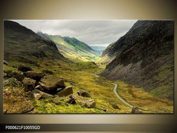 Obraz cesty uprostřed hor (F000621F10055GD)
