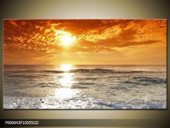 Obraz moře a západu slunce (F000643F10055GD)