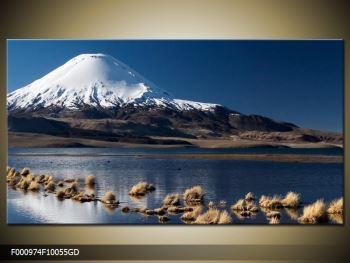 Obraz zasněžené hory (F000974F10055GD)