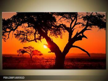 Obraz ohnivého západu slunce (F001288F10055GD)