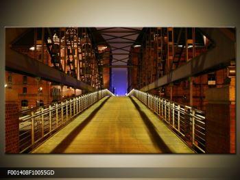 Moderný sklenený obraz F001408F10055GD (F001408F10055GD)