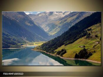 Obraz horského údolí (F001494F10055GD)