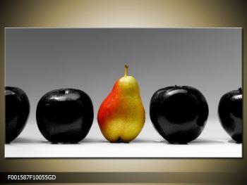 Obraz dvou jablek a hrušky (F001587F10055GD)
