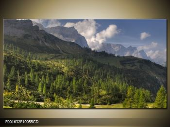 Krásný obraz hor (F001632F10055GD)