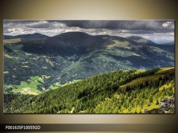 Obraz horského údolí (F001635F10055GD)