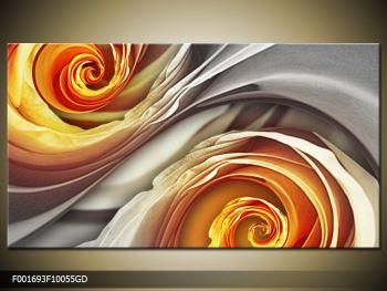 Abstraktní obraz - spirál (F001693F10055GD)