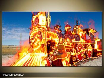 Obraz ohnivé lokomotivy (F001696F10055GD)
