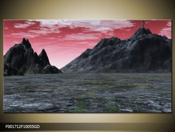 Obraz skalnaté přírody (F001712F10055GD)