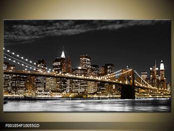 Obraz žlutého New Yorku (F001854F10055GD)