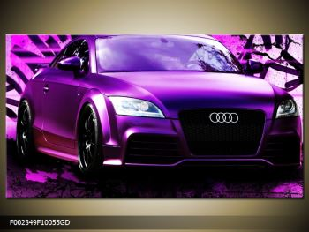 Obraz fialové Audi (F002349F10055GD)