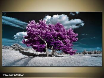 Obraz fialových stromů na pláni (F002391F10055GD)