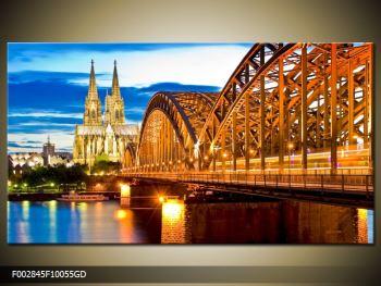 Moderný sklenený obraz F002845F10055GD (F002845F10055GD)