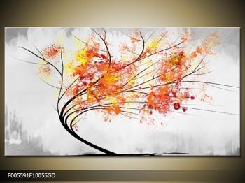 Abstraktní obraz -  podzimní strom (F005591F10055GD)