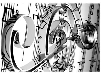 Moderní obraz houslového klíče (F000206F10070)