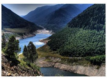 Obraz řeky a hor (F000615F10070)