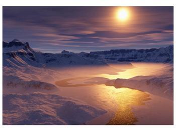 Krásný obraz zimní krajiny (F000939F10070)