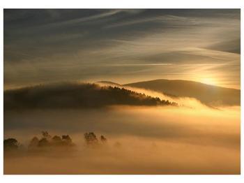 Obraz hor v mlze (F001451F10070)