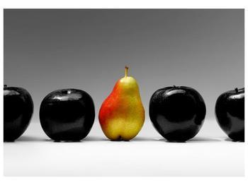 Obraz dvou jablek a hrušky (F001587F10070)