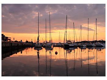 Obraz přístavu (F001605F10070)